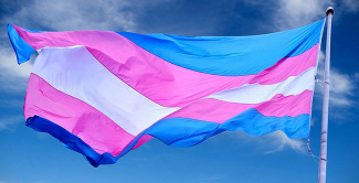 Flag image proud transgender