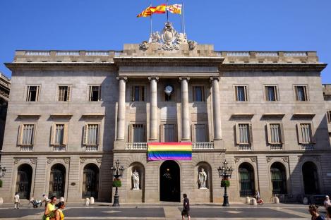 Fotografia de la façana de l'Ajuntament