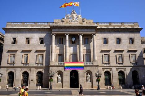 Fotografía de la fachada del Ayuntamiento