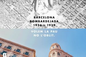 The aerial bombing of Barcelona, 1936-1939. We want peace, not oblivion