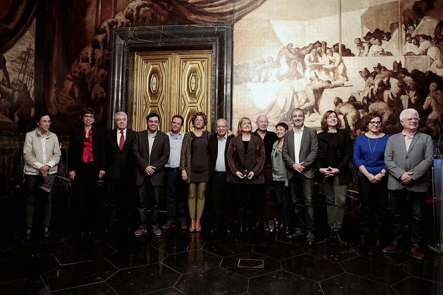 Medalles de la Solidaritat Salvador Allende 2017