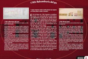1789: Bread riots