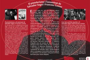 El pistolerisme i l'assassinat de Salvador Seguí i Francesc Comas