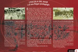 Escola del Mar and its educational heritage