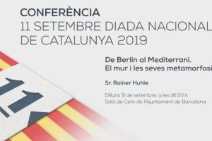 Conferència 11 de setembre de 2019
