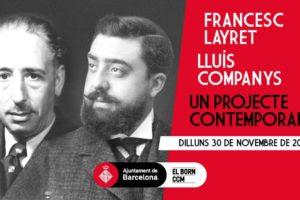 Francesc Layret y Lluís Companys, un proyecto contemporáneo