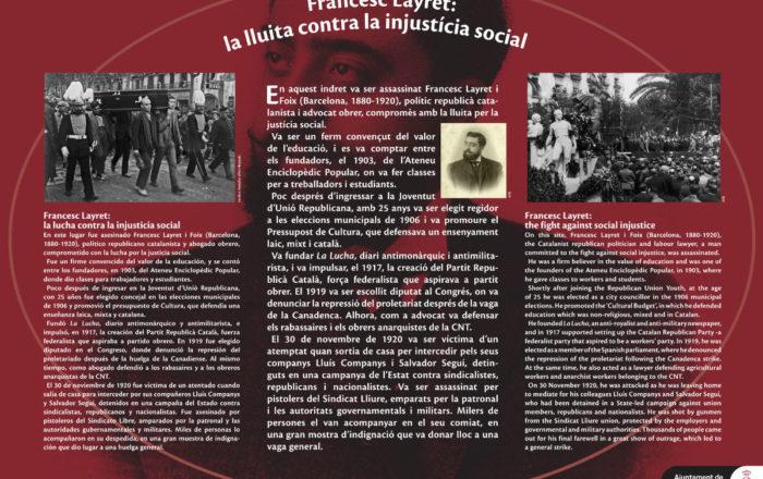Francesc Layret: the fight against social injustice