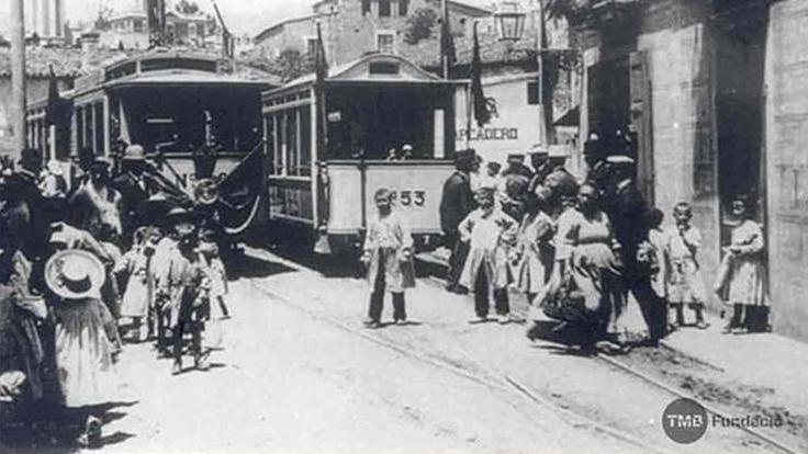 1901 Inauguració del tramvia