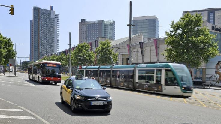 Transport public a la Diagonal