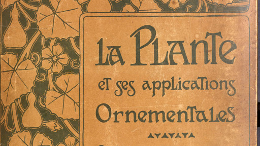 La plante et ses applications ornementales, sous la direction d'Eugène Grasset, [1896]