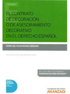 El Contrato de decoración o de asesoramiento decorativo en el derecho español