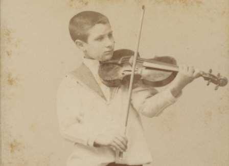 Retrat de Joan Manén. Fons del Museu de la Música de Barcelona