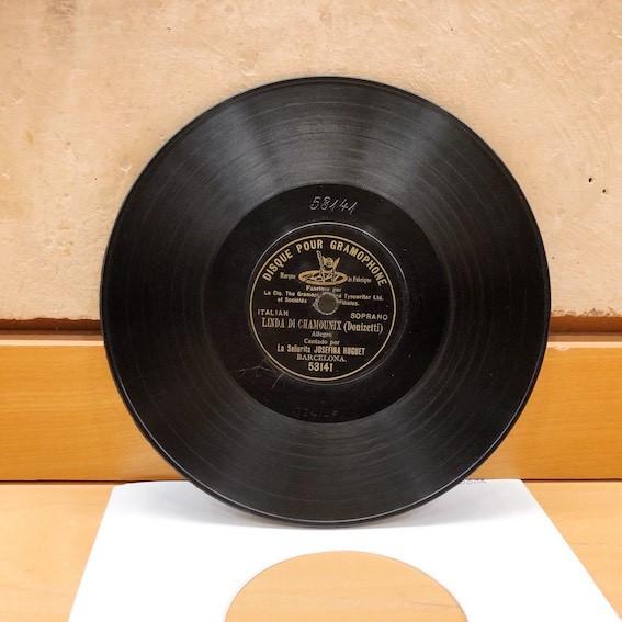 Disc de 78 rpm de Josefina Huguet