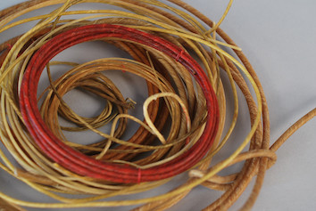 Conjunt de cordes de tripa (Foto: Esther Fernández)