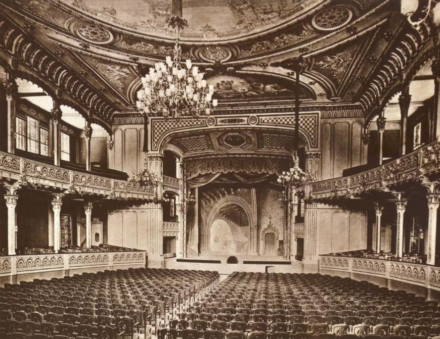El Teatre Líric de Barcelona el 1910, via Creative Commons