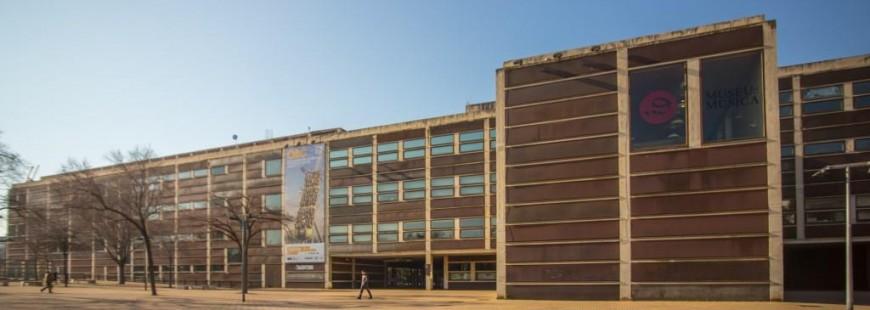 Façana del Museu de la Música de Barcelona