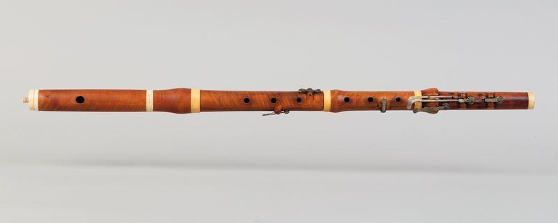 Flauta de Richard Potter (Fotografia: Jordi Puig)