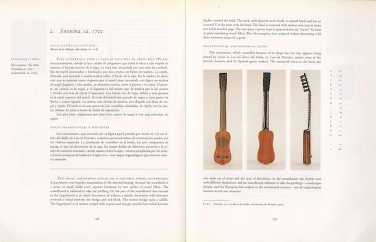 Catàleg de l'exposició The Spanish Guitar
