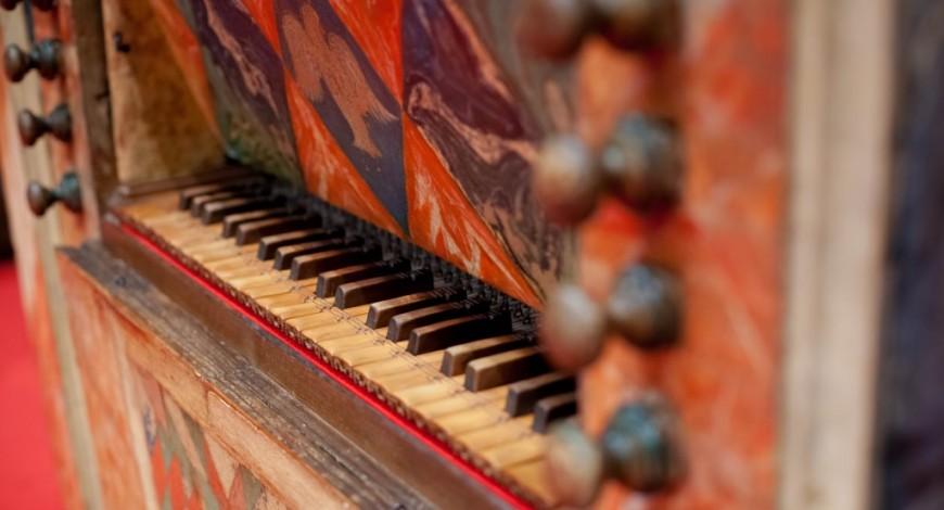 Teclat de l'orgue de Pérez Molero