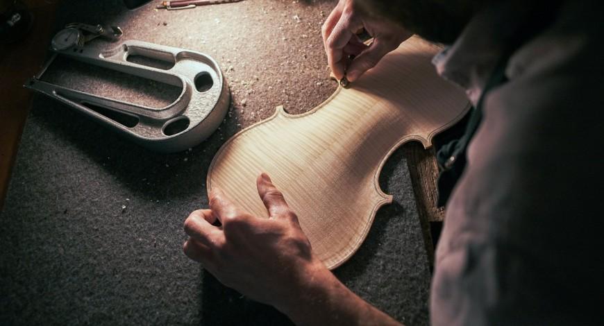 Foto: Luthier Xavier Vidal i Roca