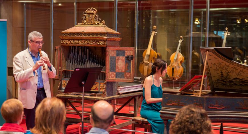 Visita Bach amb Joan Vives. Foto: S. Guasteví