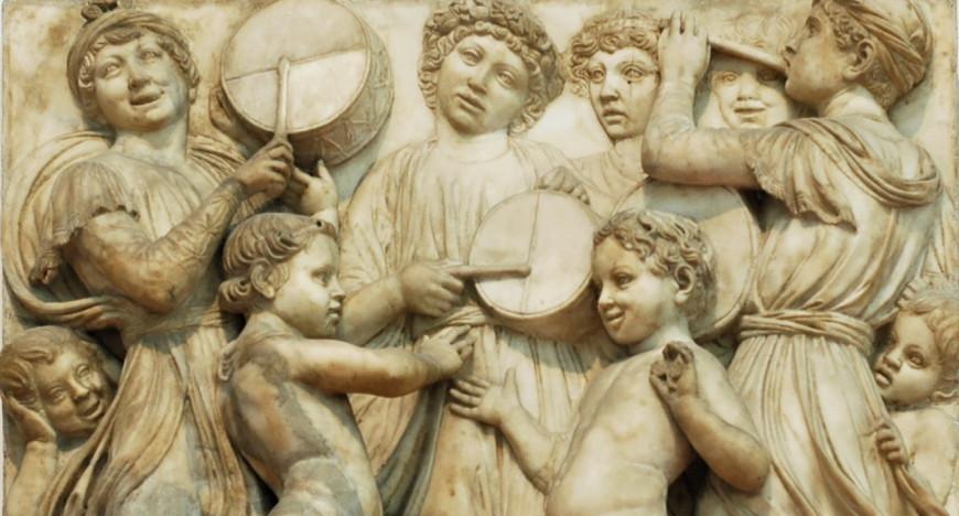 Luca Della Robbia, relleu de la cantoria de Florència