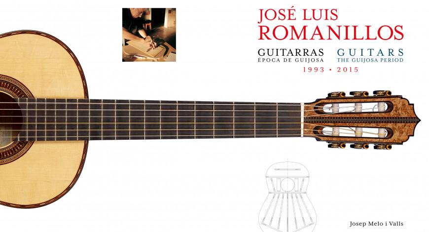 Llibre deJosep Melo i Valls'Guitarras de José Luis Romanillos'