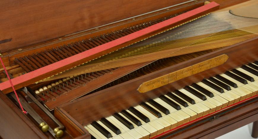 Piano de taula Zumpe  Buntebart. Foto: Kerstin Schwarz