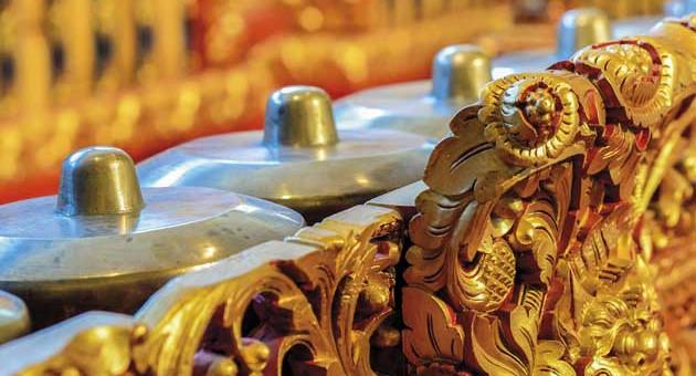 Detall de gamelan (Foto: F. Serrano)