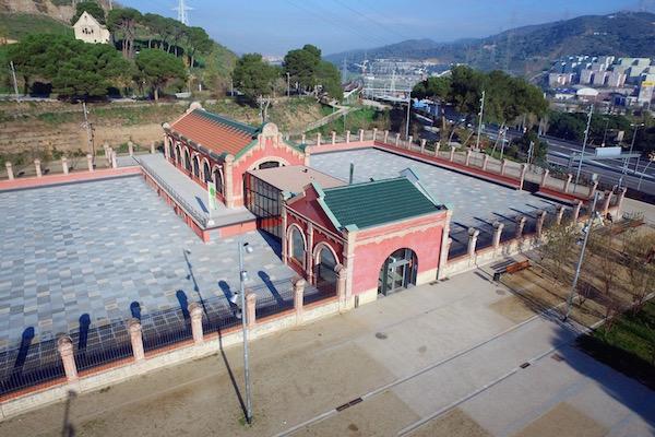 Vista panoràmica de la Casa de l'Aigua