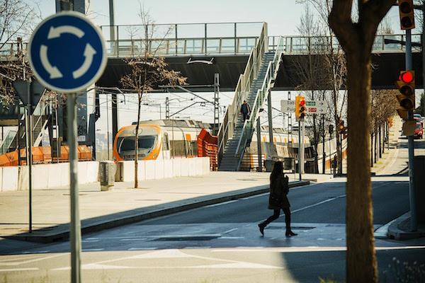 Estació del barri de Torre Baró