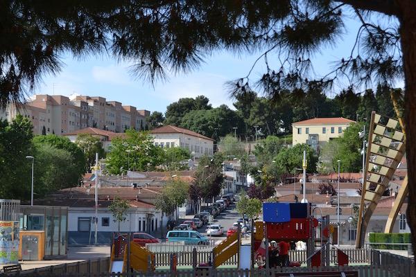 Panoràmica del barri de Can Peguera