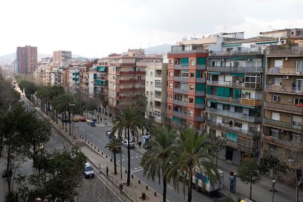 Panoràmica del barri de la Prosperitat