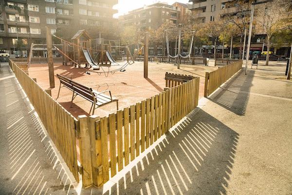 Parc infantil de Vilapicina i la Torre Llobeta