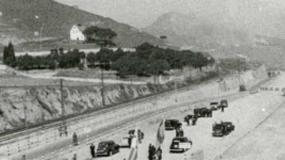 Imatge referida a la història del barri