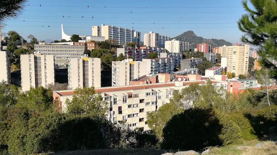 Panorámica Ciutat Meridiana