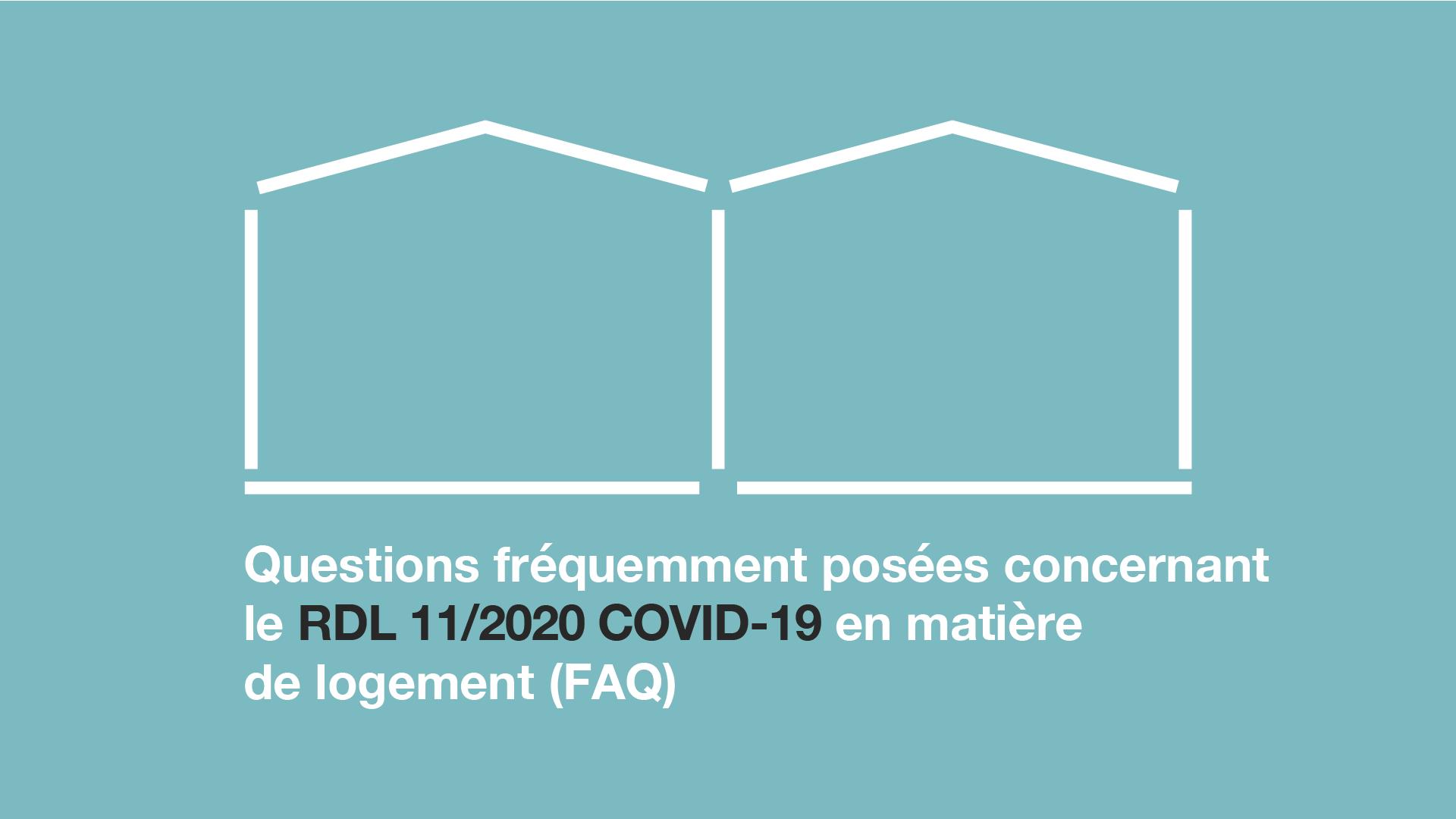 Questions fréquentes sur l'habitat dans la situation causée par la covid-19