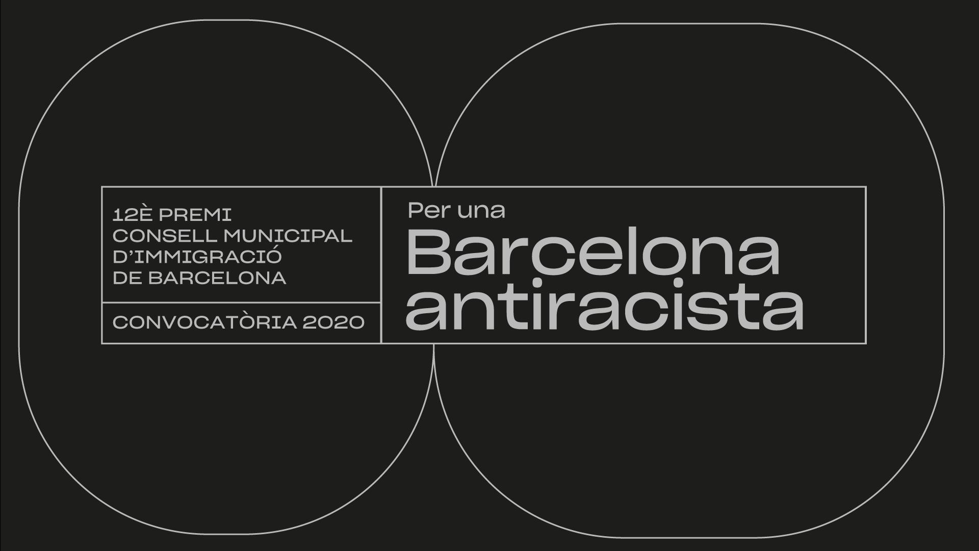 12è premi Consell Municipal d'Immigració de Barcelona