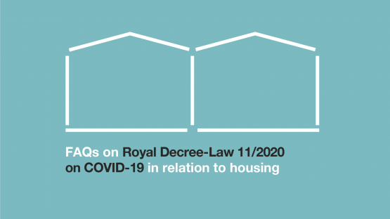 FAQs on housing affected by the COVID-19 crisis