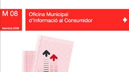 Portada de la Memoria 2008 de la OMIC