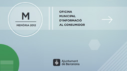Front cover of the OMIC Annual Report 2012