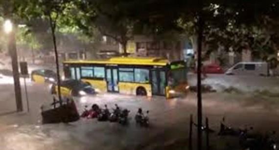 Pluja torrencial del 27 de juliol a Barcelona