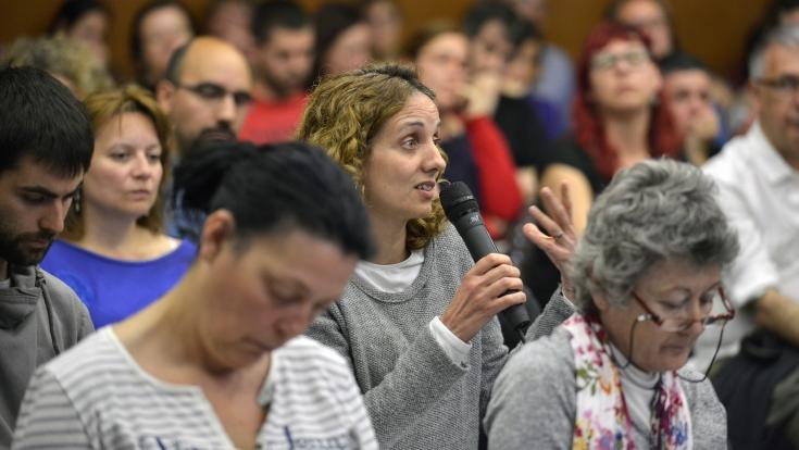 Grup de gent en un procés participatiu
