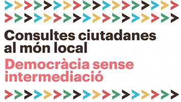 Jornades Consultes ciutadanes al món local