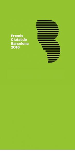 Premis Ciutat de Barcelona 2016