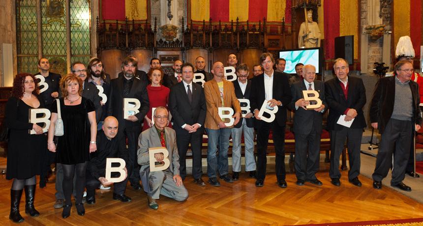 Guardonats - Premis Ciutat de Barcelona 2010
