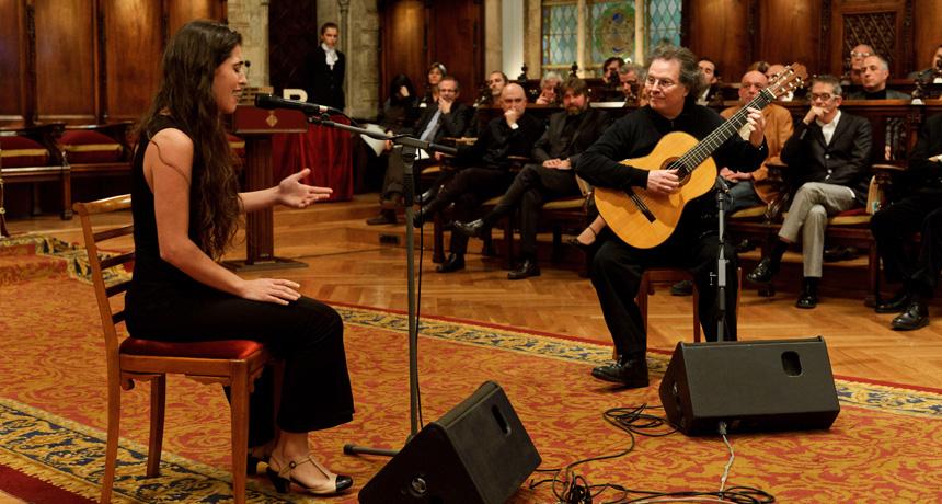Sílvia Pérez-Cruz i Toti Soler - Acte de lliurament Premis Ciutat de Barcelona 2010