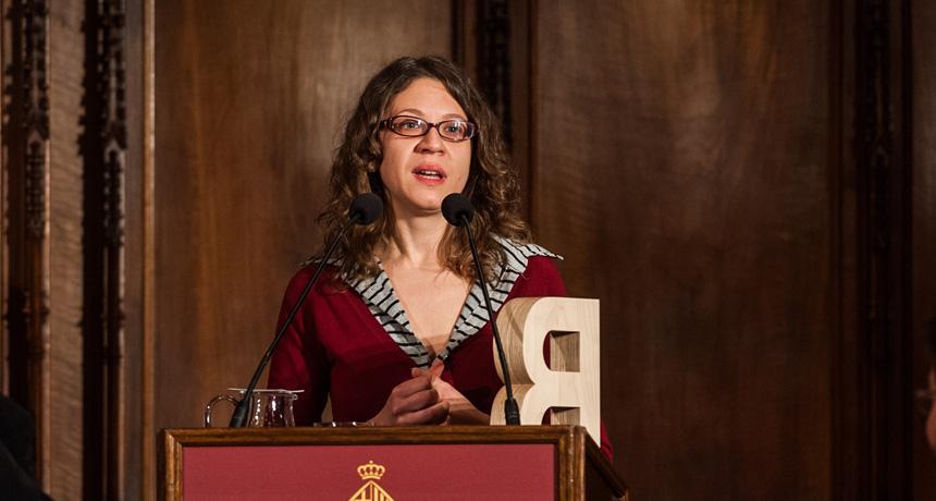 Sandra Santana - Premi Ciutat de Barcelona d'Assaig 2011