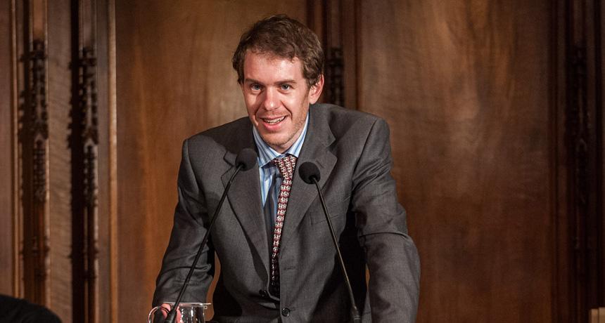 Ben Lehner - Premi Ciutat de Barcelona d'Investigació científica 2011
