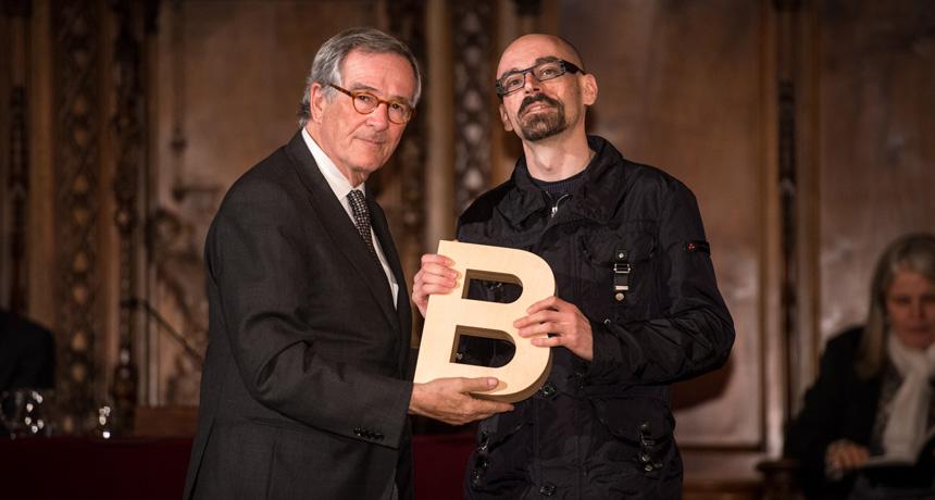 Eloy Fernández Porta - Premi Ciutat d'Assaig Barcelona de 2012